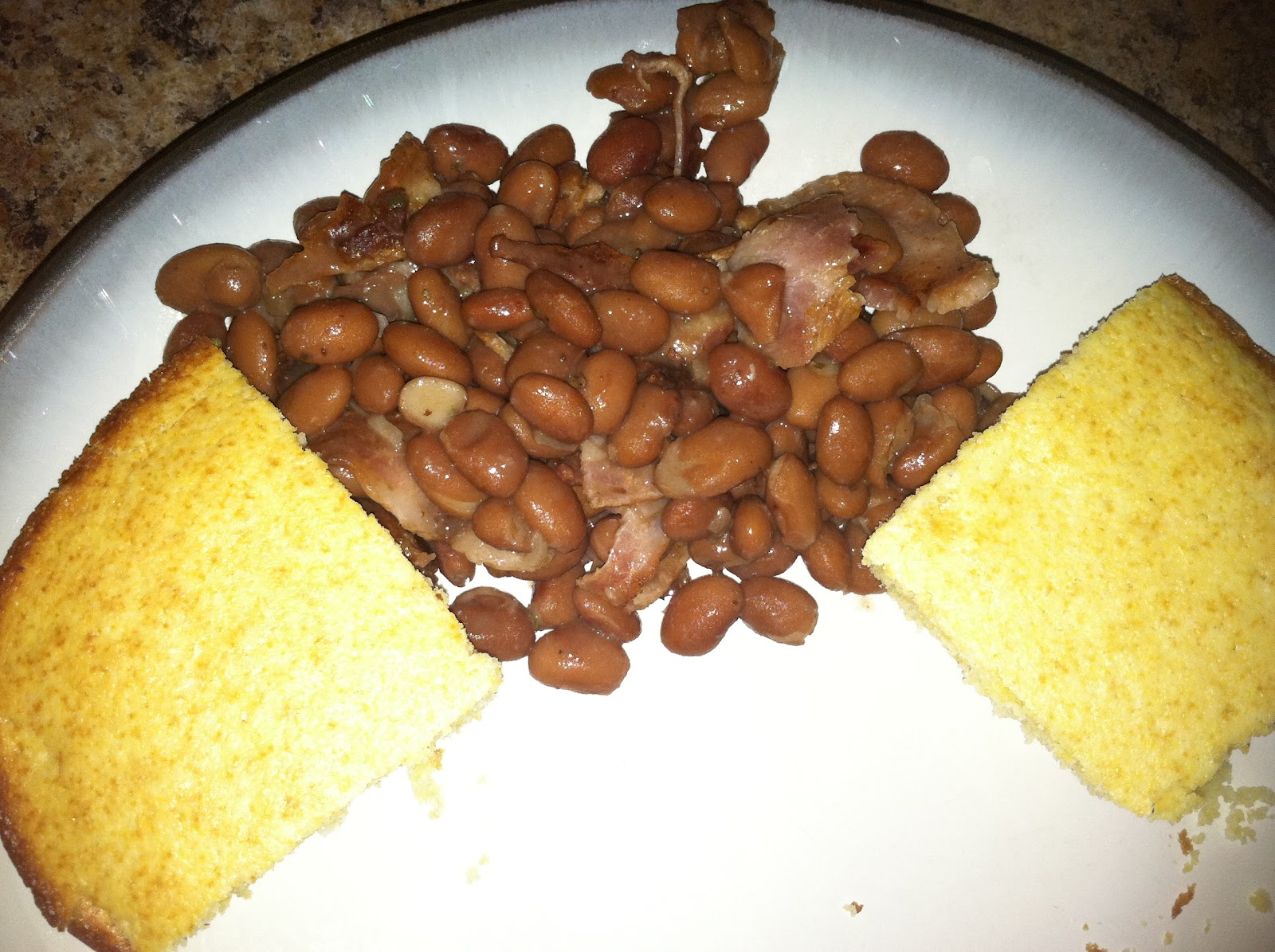 Cooking With The Frugal Navy Wife: Beans and Cornbread