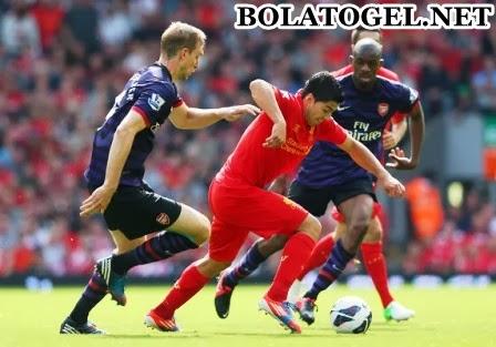 Prediksi Bola Liverpool vs Arsenal 8 Februari 2014