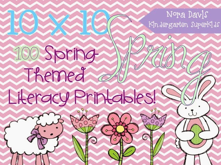 http://www.teacherspayteachers.com/Product/10x10-Spring-Literacy-Printables-1174382
