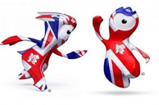 Maskot Olimpiade London 2012