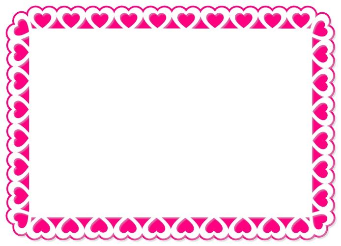ScrappinbyKris: Heart Trim 6x4 Photo Frame SVG
