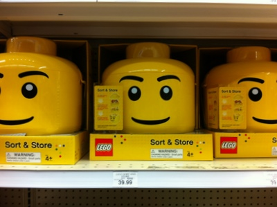 Giant Lego Head