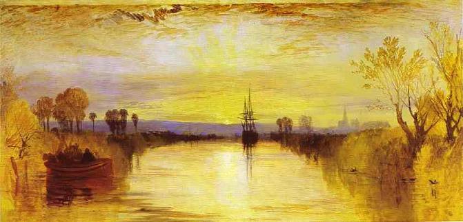 Canal de Chichester ca. 1828, de J. M. W. Turner.