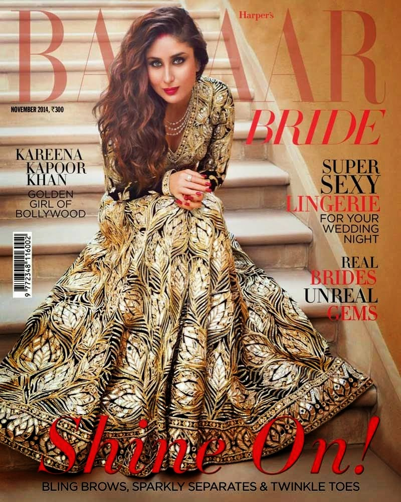 Kareen kapoor Latest Film Fare Bazaar Magazine Cover Photos