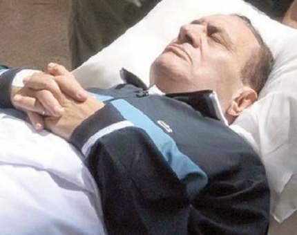 أنباء عن وفاة الرئيس المخلوع حسني مبارك