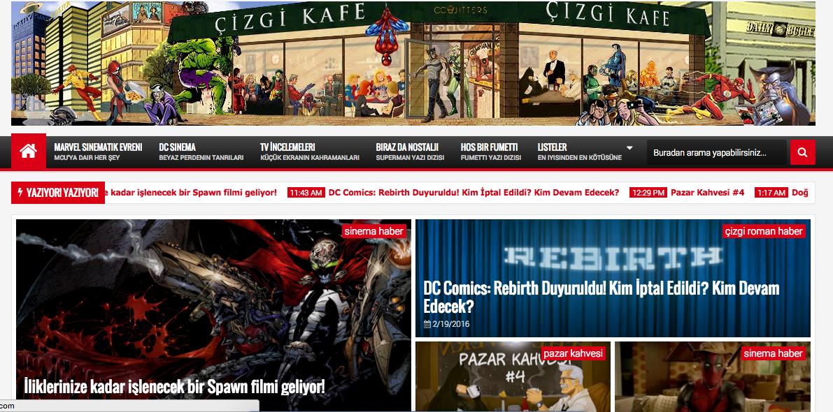 ÇİZGİ KAFE'DE SOLUKLANIN!