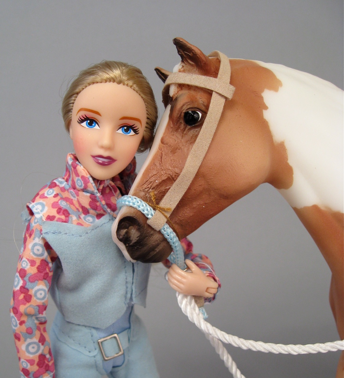 "Breyer ""Let's Go Riding Western"" set"