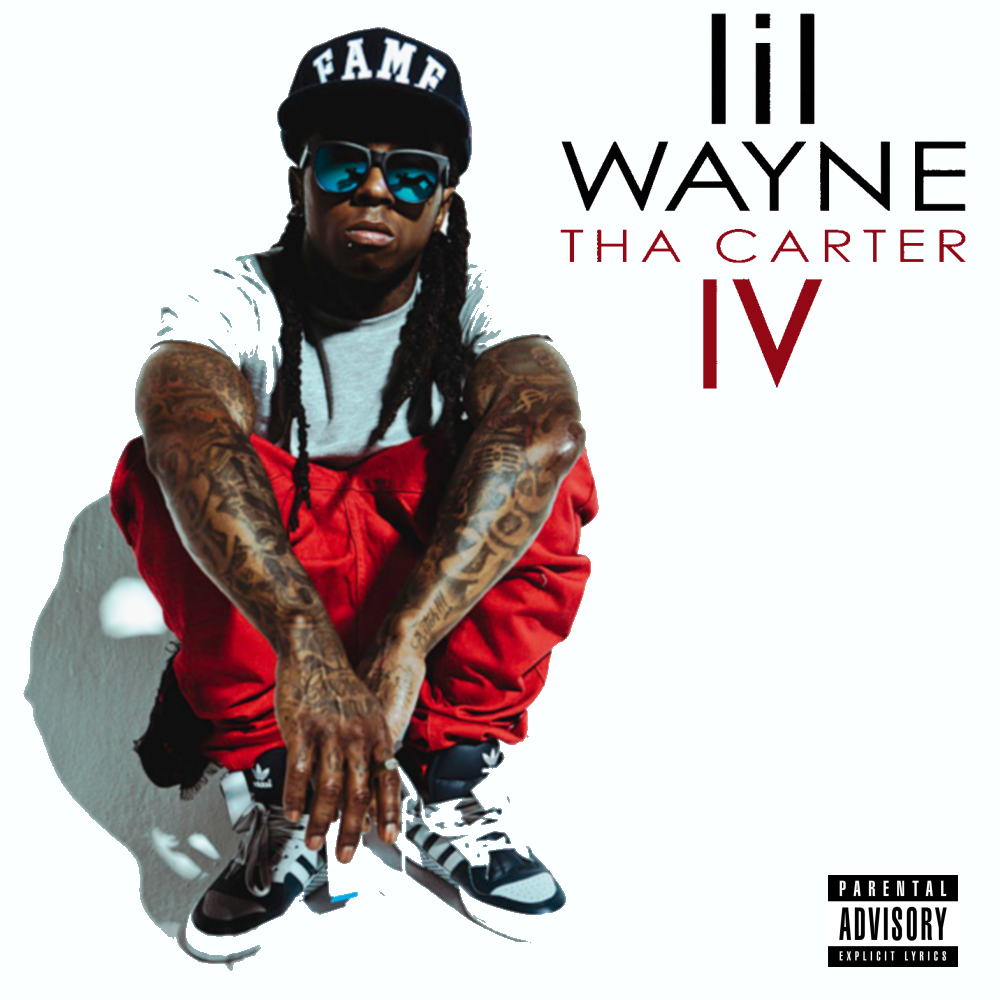 Rap it up design lil wayne tha carter iv costom cover