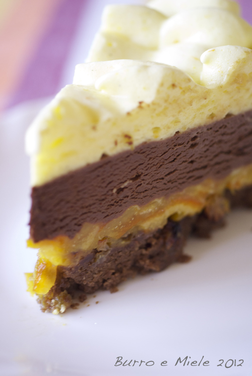 Burro e Miele: Torta di arance e cioccolato di Luca Montersino