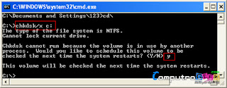Disable Auto Check Disk (CHKDSK)3