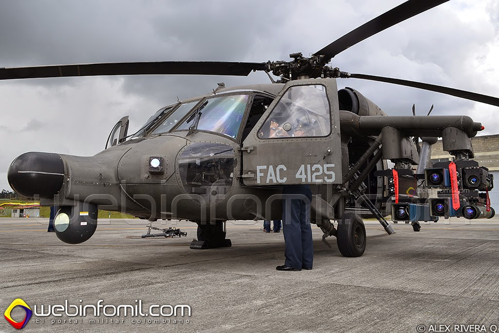 Arpia IV Fuerza aerea colombiana