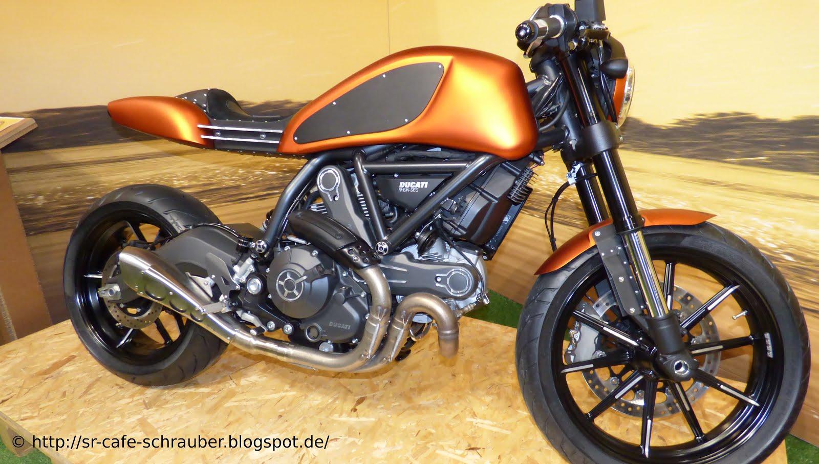 Ein Schoner Racer Umbau Auf Basis Der Ducati Scrambler