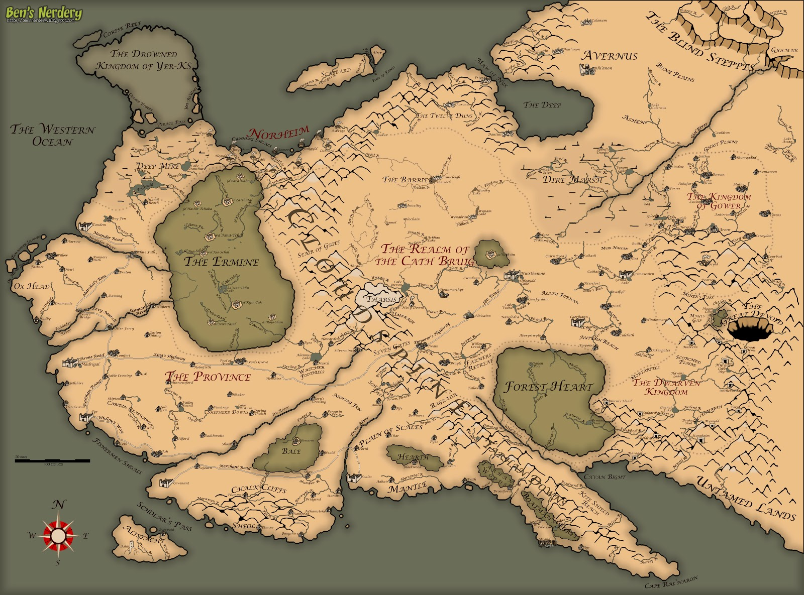 Images Of Map Of Modern Thedas Sc