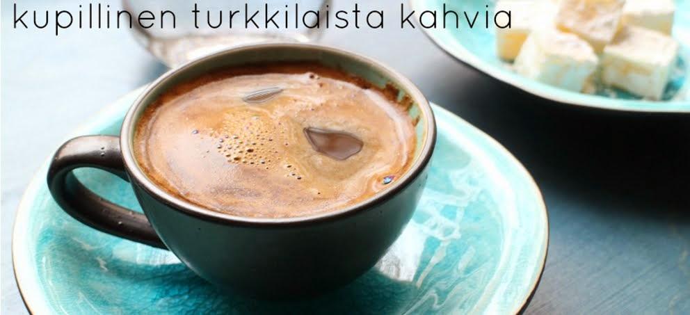 kupillinen turkkilaista kahvia