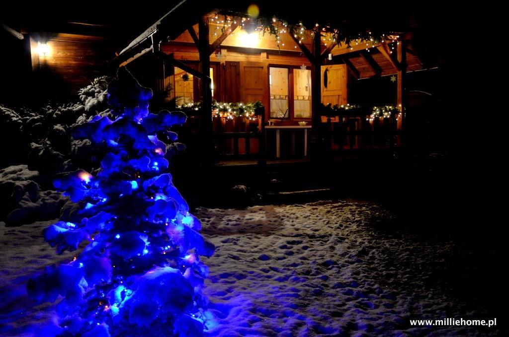 świąteczna chatka