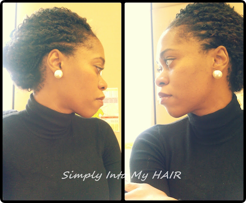 Crochet Braids Updo : Crochet Braids: Updo - Style #2 Simply Into My HAIR