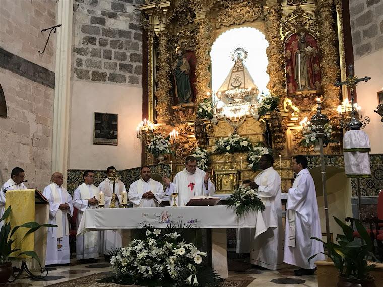 Nuestro párroco, también de Santa María