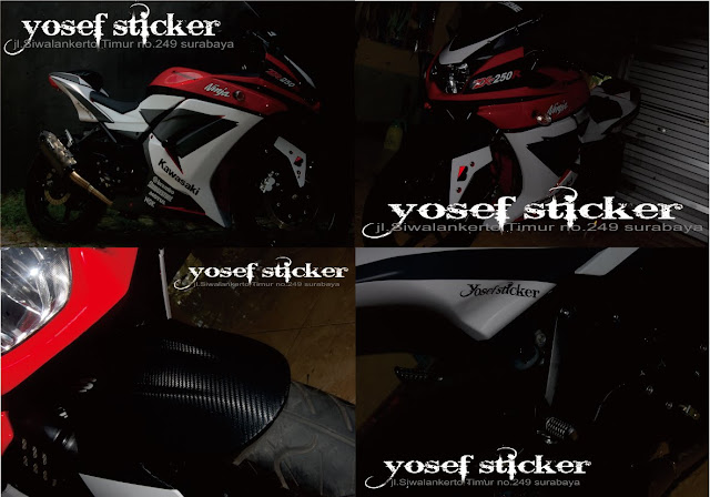 cutting sticker ninja 250 r