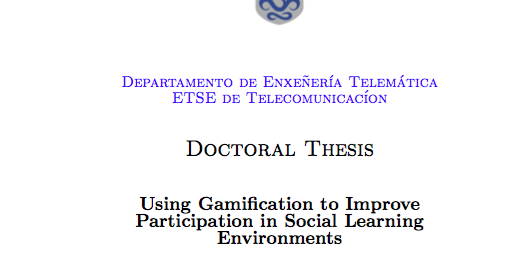 phd thesis e learning Theses and dissertations e-learning elearning distance learning online model  framework by khan scholarly  phd thesis, middlesex universityiskander.