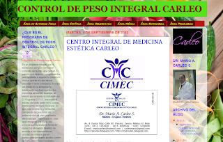 PROGRAMA DE CONTROL DE PESO CARLEO