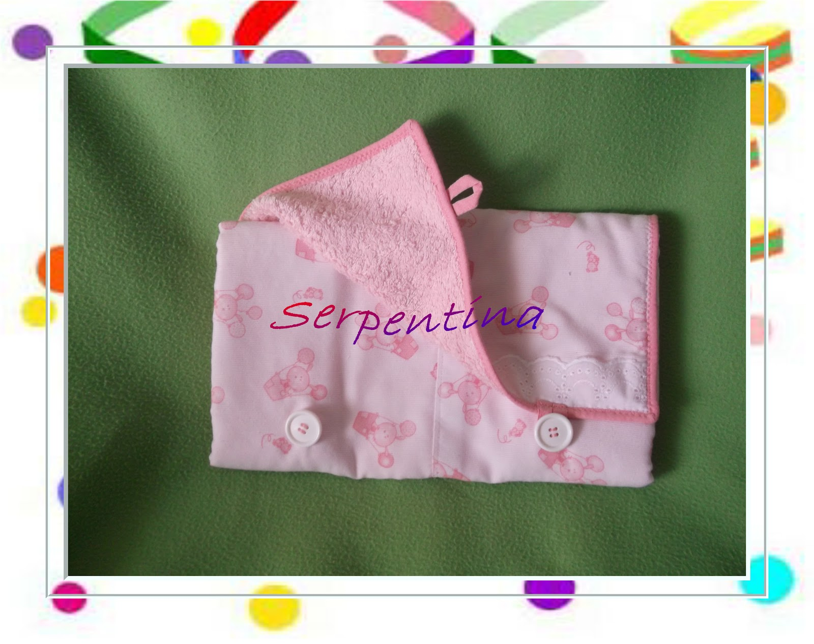 Serpentina accesorios canastilla para beb 2 parte - Felpa porta bebe ...