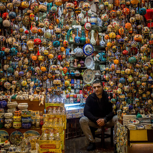 Turkey: Colours of Istanbul's Grand Bazaar, the world's most visited tourist attraction