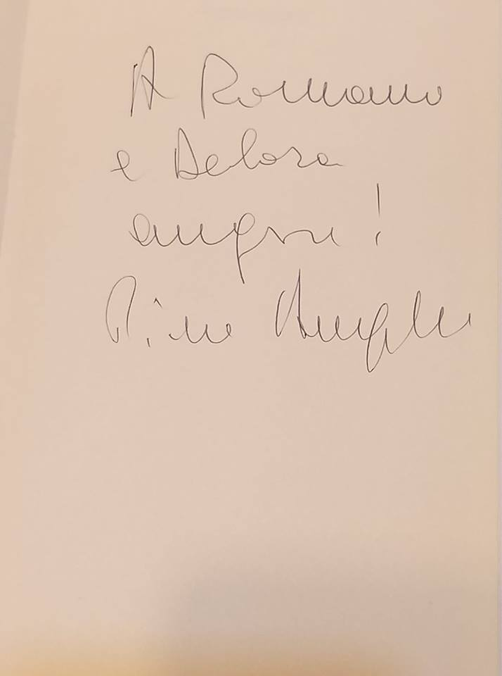 Particolari AUGURI firmati Piero Angela!!!