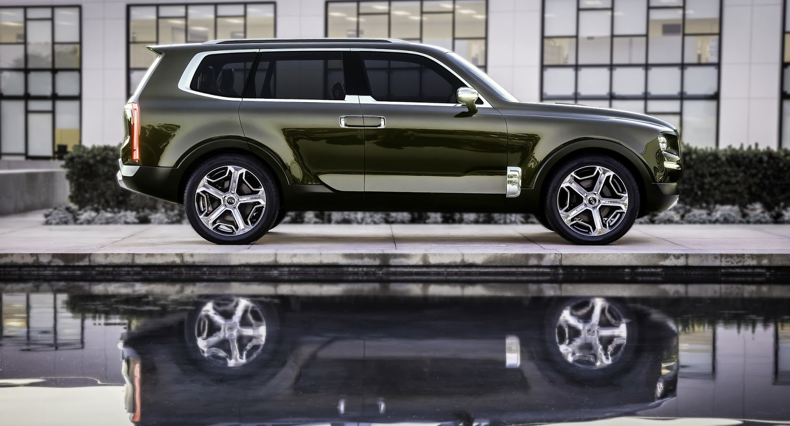 autokavla: 2016 Kia Telluride SUV Concept