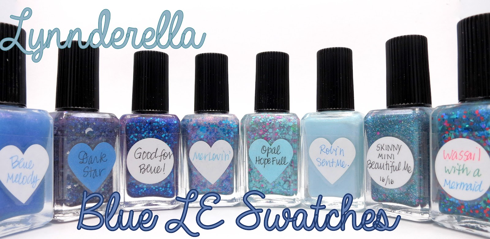 Lynnderella Blue LE Swatches