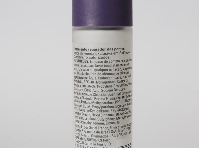 sp wella 3 Reparador De Pontas Perfect Ends da Wella SP