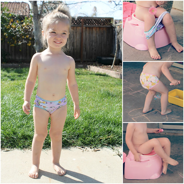 Jess party of five keira potty training update
