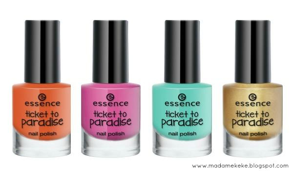 essence ticket to paradise – nail polish