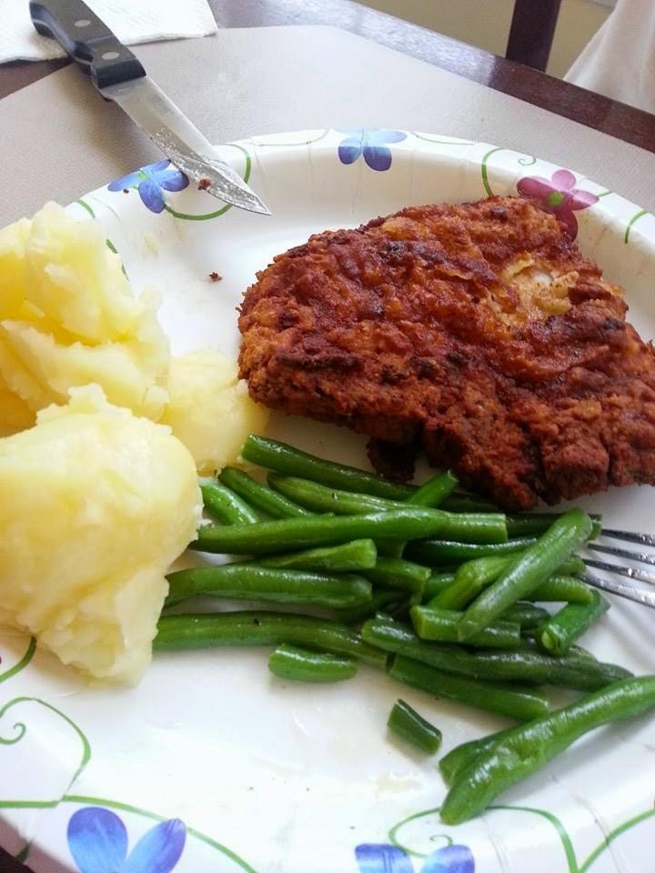 http://sharingwithmysisters.blogspot.com/2014/08/southern-fried-pork-chops.html
