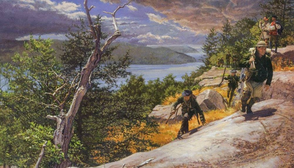 """passumpsic men 1848: arrival of the railroad  the connecticut and passumpsic rivers railroad company was first chartered  wells relates how a """"horde of men,."""