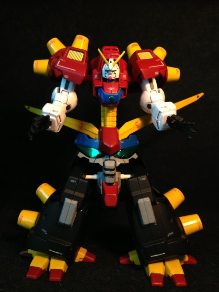 Revenge of the Giant Robots: NG Devil Gundam 1/144 - The Rise of ...