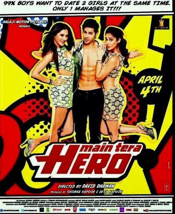 Main Tera Hero 2014 Watch Hindi Full Movie Online Hd blue Rip DVD