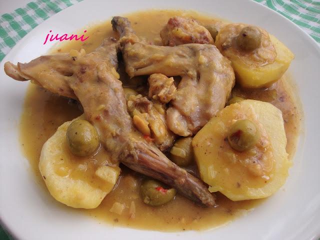 Como cocinar conejo guisado sin grasa receto - Cocinar sin grasa ...