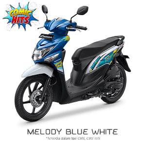 Warna Baru Beat POP ESP CBS ISS 2016 Melody Blue White