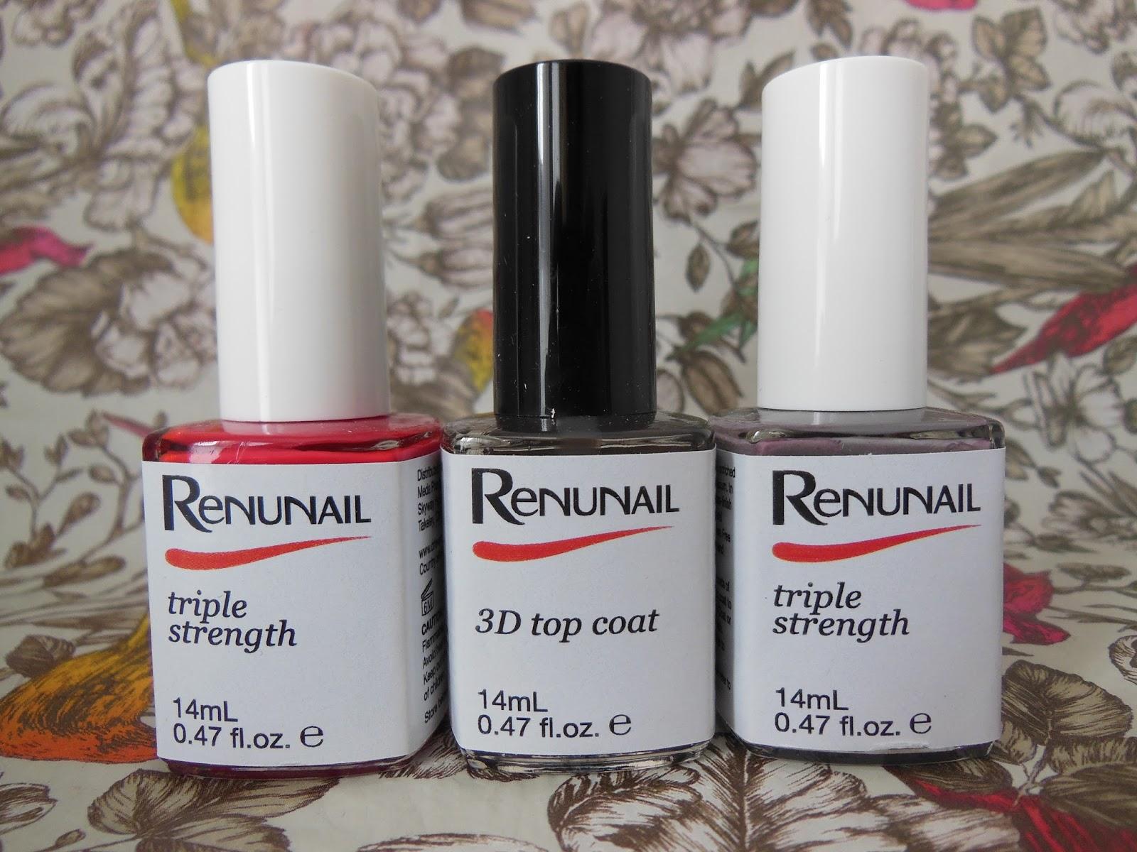 Dr Lewinn's renunail triple strength nail colours