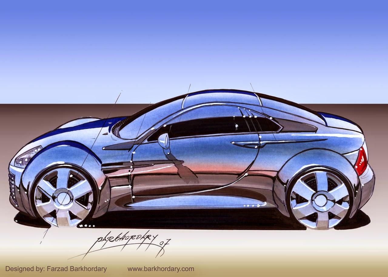 Mini Sport Car Design By Farzad Barkhordary Lg