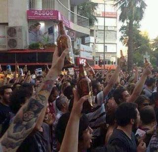 Rusuhan di Turki | Penglibatan golongan sekular