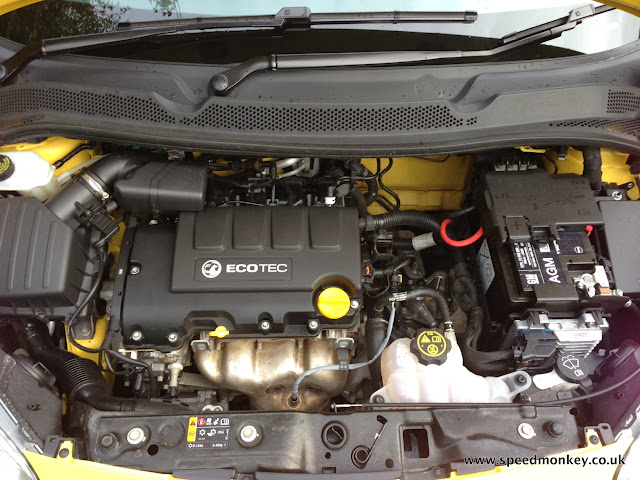Vauxhall / Opel Adam engine