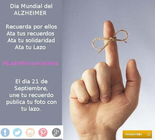 #LazoRecuerdales: Recuerda tú por los que no pueden.