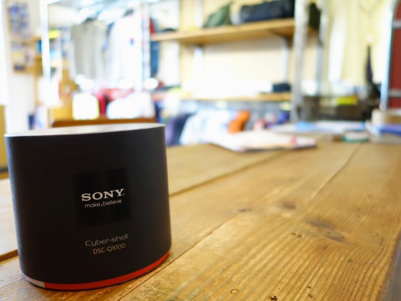 ソニー レンズカメラ DSC-QX100 参考画像