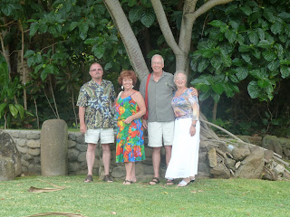 Judi Kevin Molly and Joe under Poohala Tree