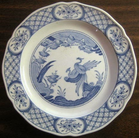 http://www.decorativedishes.net/blue-chinoiserie-bird-lattice-vintage-plate-m/