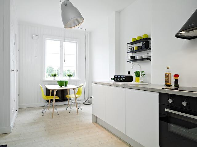 LEUCHTEND GRAU Interior-Design-Blog celebrating soft Minimalism: Kleine charmante Wohnung