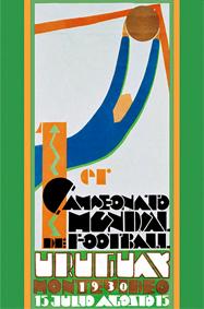 Cartel Mundial de Uruguay 1930