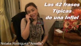 Arenita: Las 42 Frases Tipicas De Una Infiel
