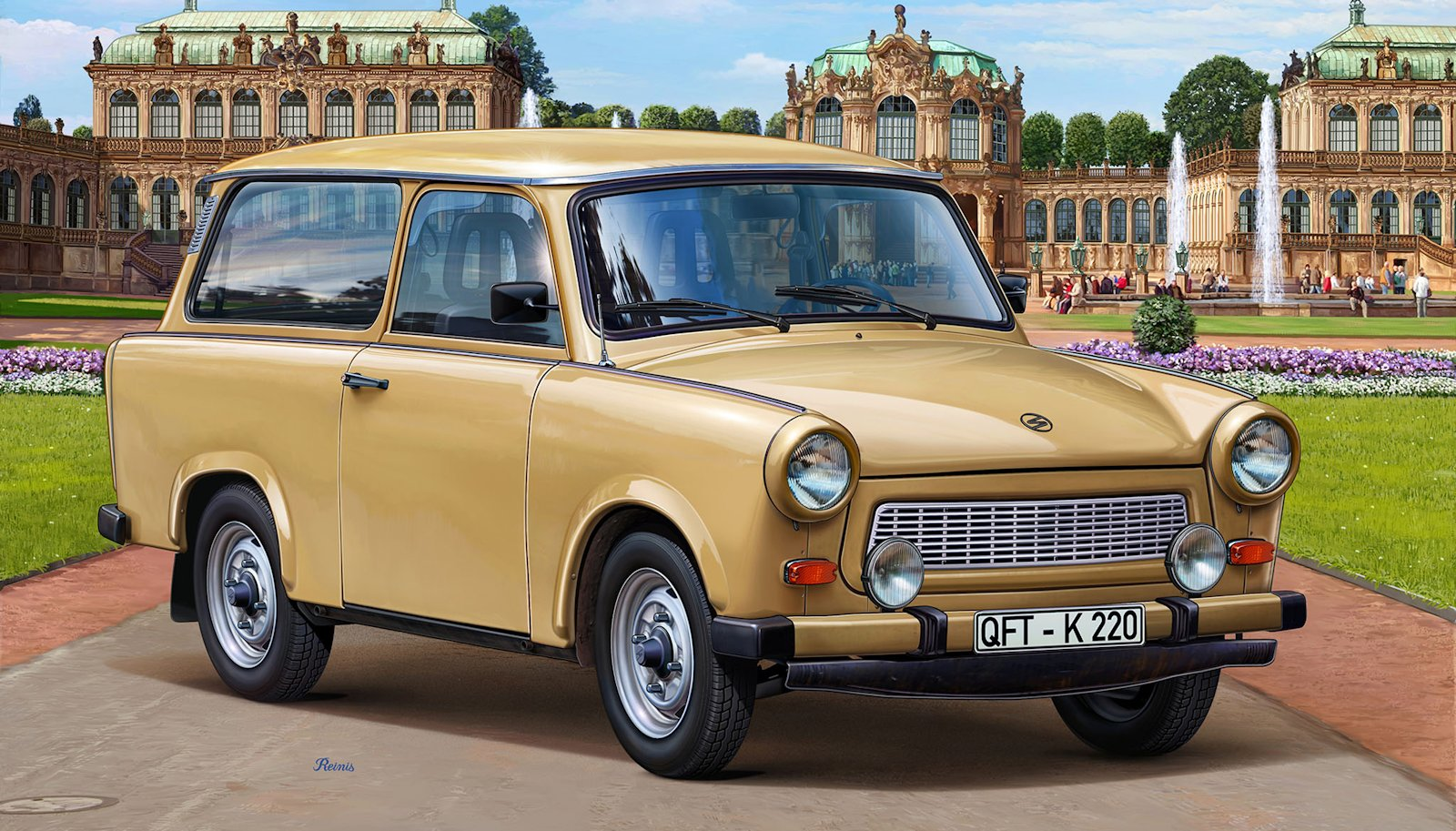 the modelling news traveling trabant in t t terrible trouble fran ois causes a scene with. Black Bedroom Furniture Sets. Home Design Ideas
